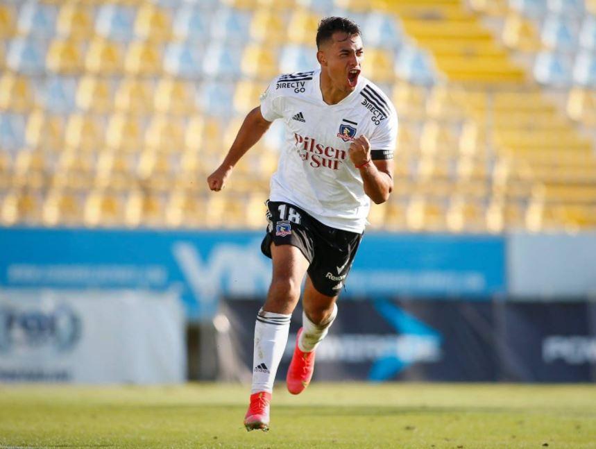 Iván Morales alcanzó el mejor inicio goleador de su carrera en Colo-Colo - Hinchada Monumental